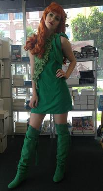 Poison Ivy at Bedrock City Comic Company